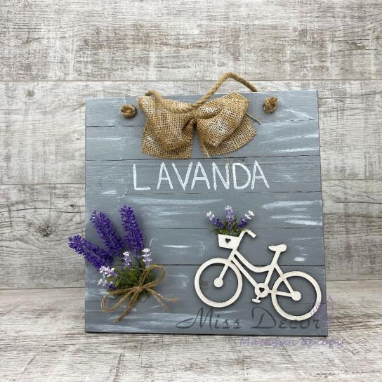 Доска декоративная lavander серая