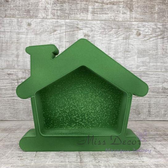 Пенобокс домик зеленый