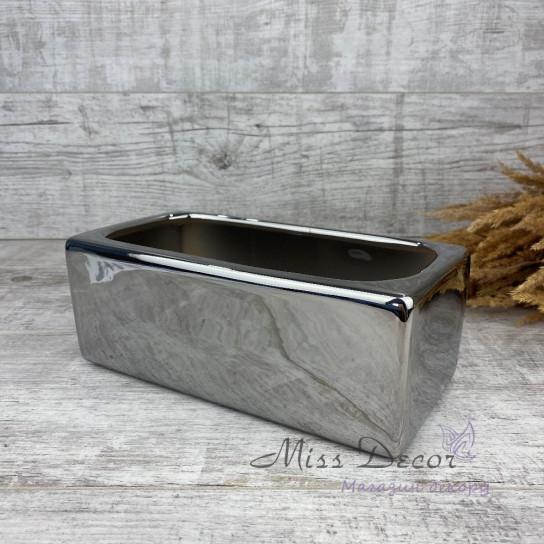 Керамика кашпо silver 31 052 25