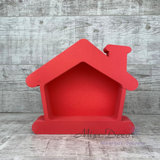 Пенобокс домик красный