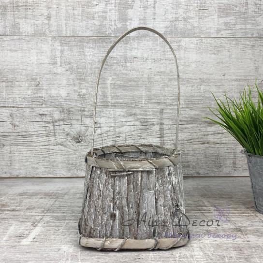 Корзина сумочка кора