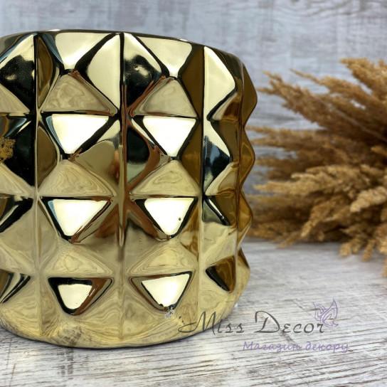 Керамика кашпо gold 05.171.15