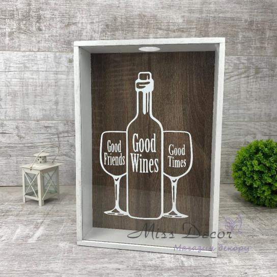 Копилка для винных пробок Goof wines