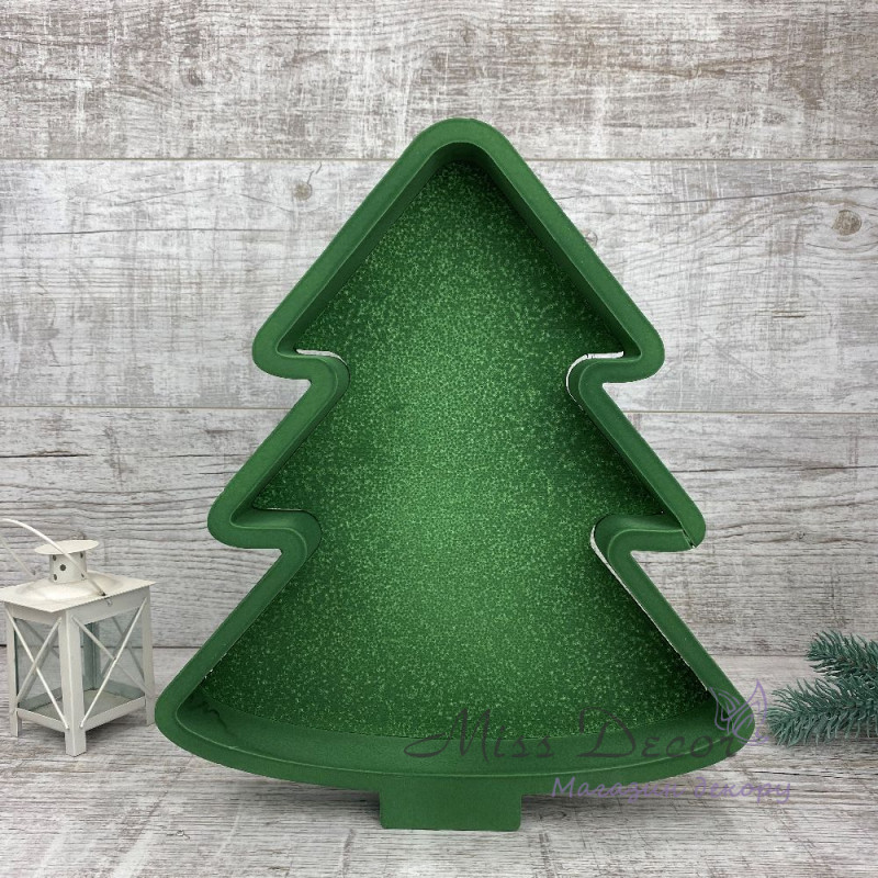 Пенобокс елка зеленая