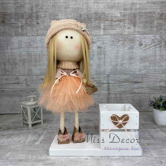 Кукла + деревянная коробочка