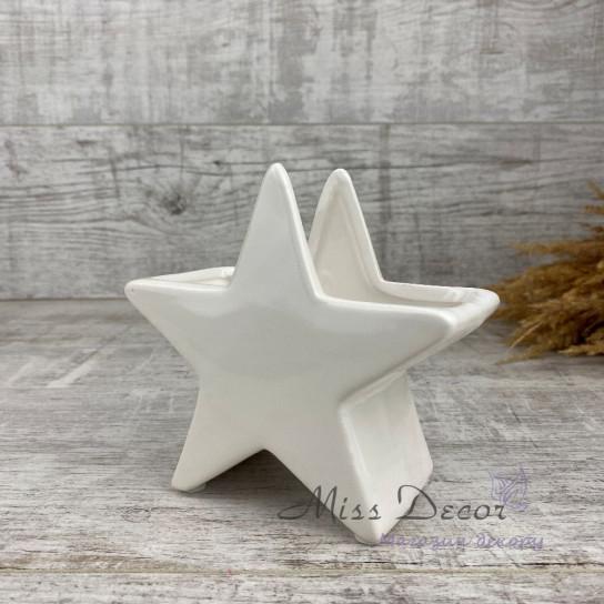 Керамика кашпо звезда 02.621.14