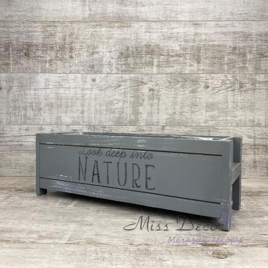 Балкон Nature серый