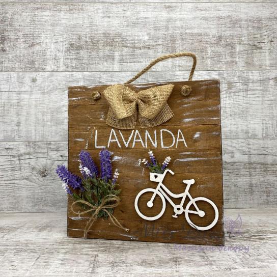 Доска декоративная lavander коричневая