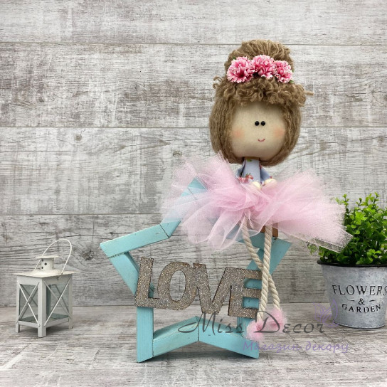 Кукла Фатинка на звездочке