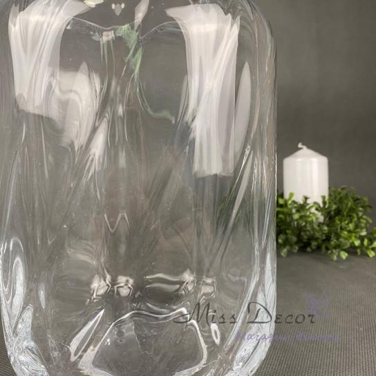 Стеклянная ваза 24 см