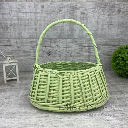 Корзина сумочка салатовая MIX TS-7432