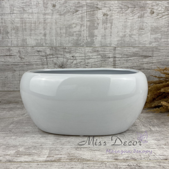 Керамика кашпо white 31.022.27