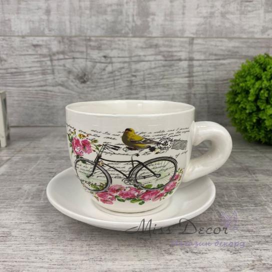 Чашка кашпо Bicycle BS1230187S1-1