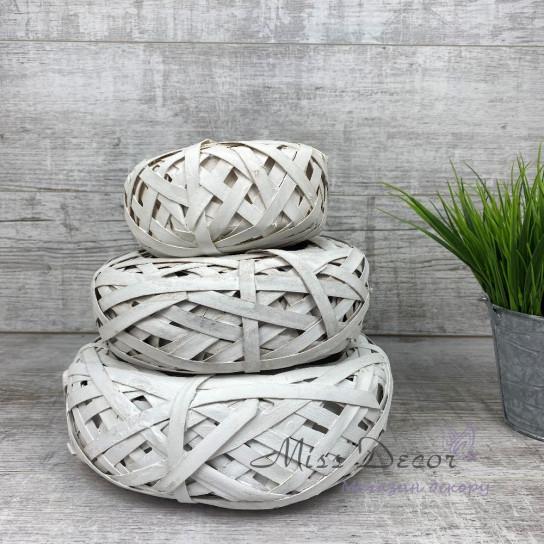 Кашпо плетеное среднее