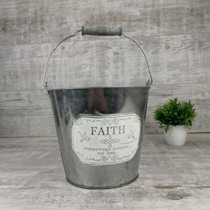 Металлическое ведро faith 161131