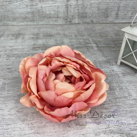 Головка пиона розовая (6 шт)