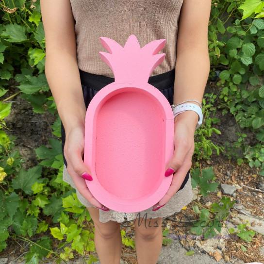 Пенобокс ананас розовый