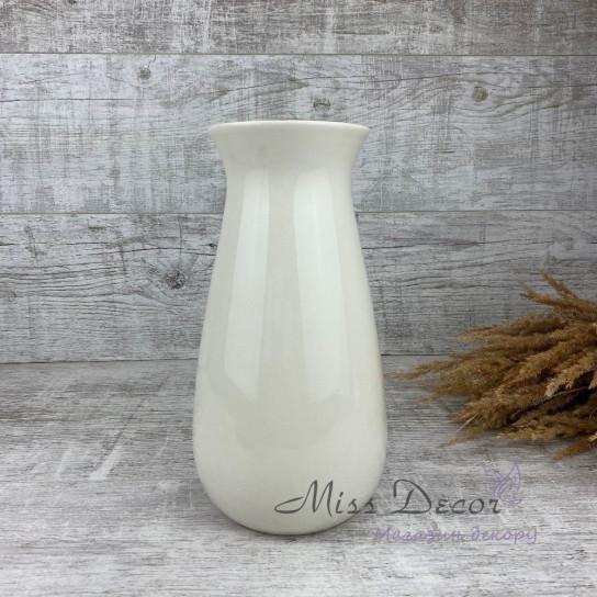 Керамика ваза молочная 02.584.27