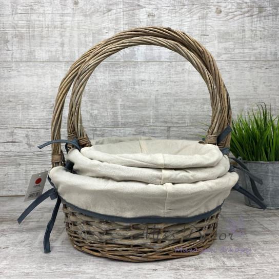 Набор корзин с тканью