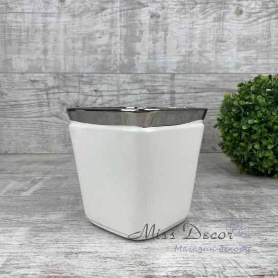 Керамика ваза квадратная высокая LJ18S072DА
