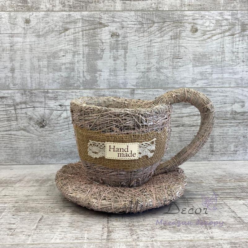 Чашка малая пудра