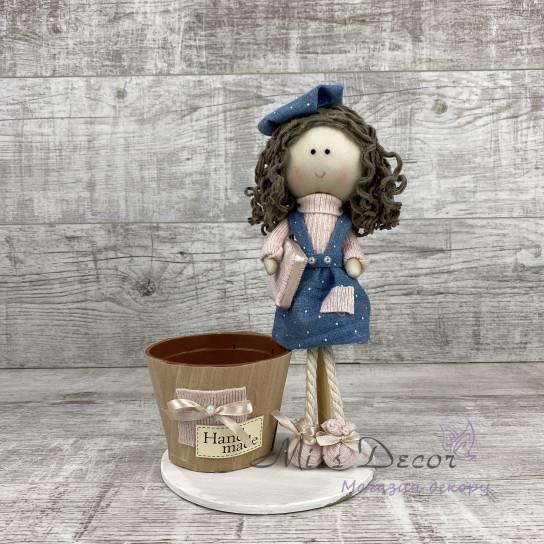 Интерьерная кукла Студент