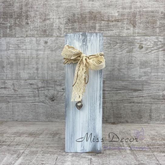 Вазочка деревянная 35 см