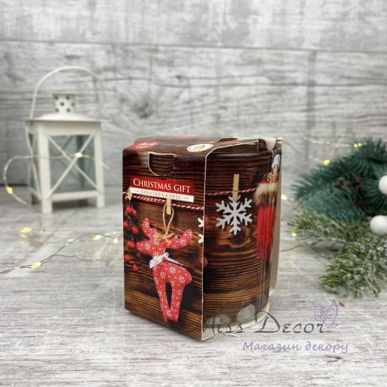 Свеча ароматическая - Рождественский подарок