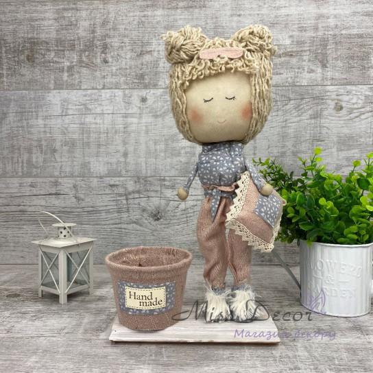 Кукла+ кашпо Соня